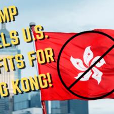 Hong Kong Nationals Lose All US Immigration Benefits