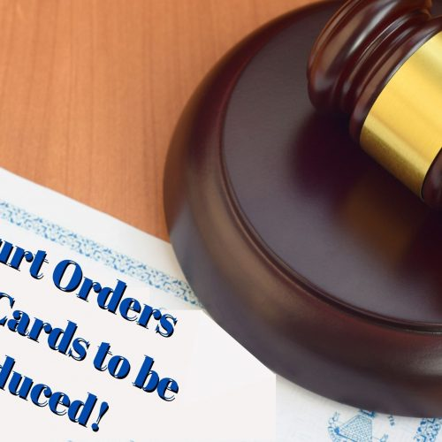COURT FORCES PRINTING OF EAD CARDS!