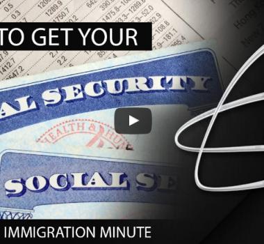 HOW DO I GET A SOCIAL SECURITY NUMBER?