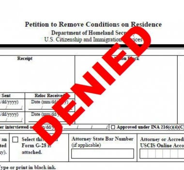 Married? Green Card? The process may not be over yet…